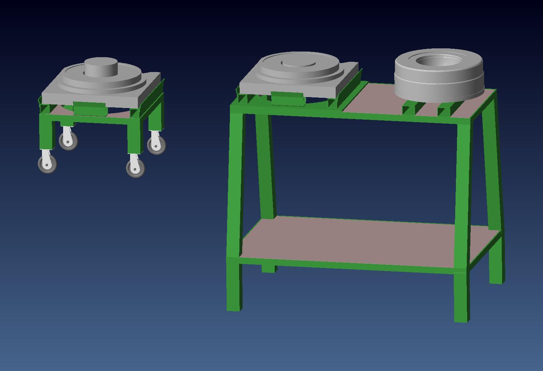 Attr. per montaggio/manutenzione stampi